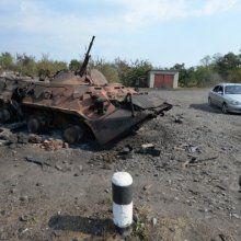 В Донецкой области после обстрела загорелась шахта