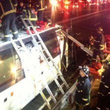 Пассажирский автобус в Чили попал в ДТП, погибли пять человек