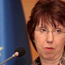 Эштон предлагает начать переговоры о заключении перемирия в Украине