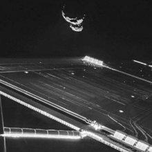 Зонд Rosetta сделал селфи на фоне кометы Чурюмова-Герасименко