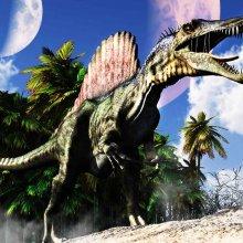 Ученые-палеонтологи: Хищные сухопутные динозавры умели плавать