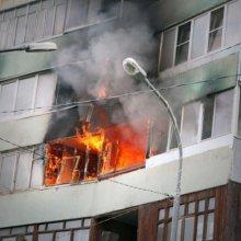 В Минске в результате пожара погиб мужчина, 15 человек эвакуировано