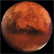 Новые исследования упавшего на Землю метеорита говорят о возможности жизни на Марсе