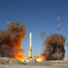 На целевую орбиту выведен российский спутник «Луч»