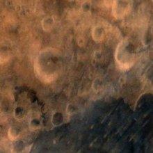 Зонд Mangalyaan отправил на Землю марсианские снимки