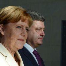 Порошенко и Мерель обсудили ситуацию на Донбассе