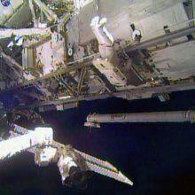 Астронавты МКС вышли в открытый космос