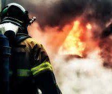 В Кировской области самосвал загорелся прямо на ходу