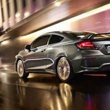� ��� ��� ����� �������� Honda Civic Si Coupe � Honda Civic Sedan 2015
