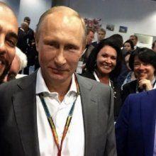 Тимати опубликовал «селфи года» с Путиным и Медведевым