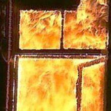В Львовской области  в пожаре погибли дедушка и внук