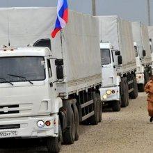 МЧС РФ: Конечные пункты назначения гумконвоя из России не установлены