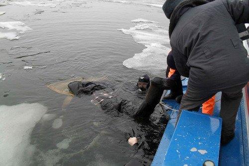 двое рыбаков утонули