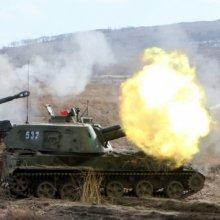 Донецк был подвержен мощнейшему артиллерийскому удару