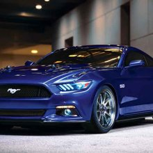 � ���-������ ������������ ����� Ford Mustang RTR