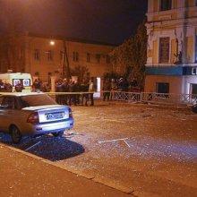 Установлены подозреваемые во взрыве в кафе Харькова