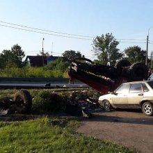 В результате ДТП с грузовиков на Таллинском шоссе погибли двое