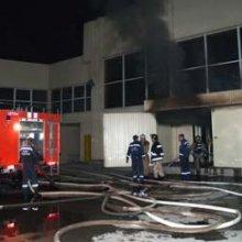 В результате сильного пожара на севере Москвы загорелись склады