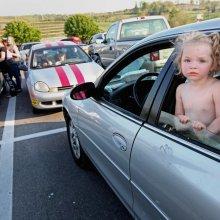 Грудной ребенок обнаружен запертым в «БМВ»