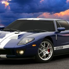 �������� FORD GT ����� ����������� � ��������