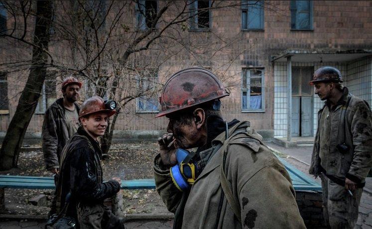 фотографии шахтеров донбасса все шутку