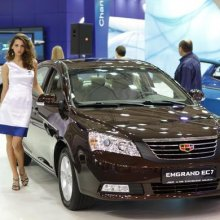 Geely �������� � ������ ����� �������������� ����� Emgrand EC7