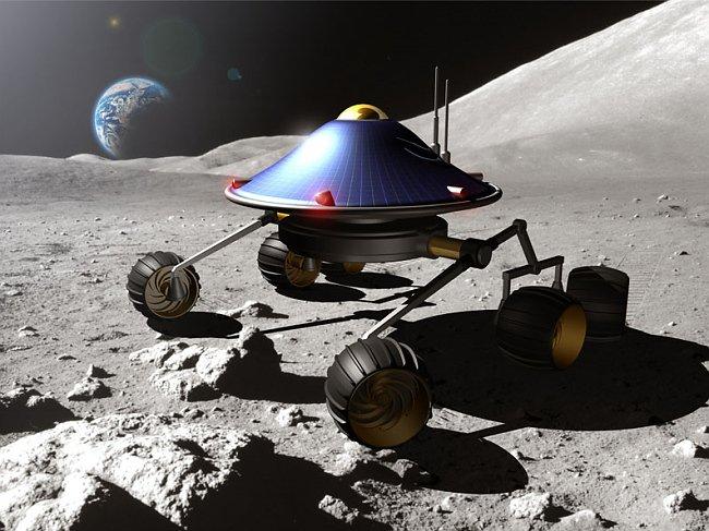 фото лунохода на луне процессе обучения