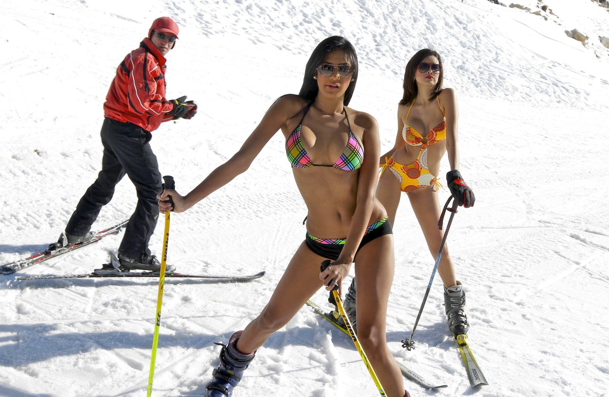 Секс на лыжно курорте 18 фотография