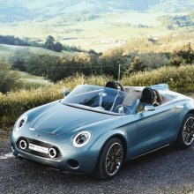 ������� Mini Superleggera Vision ������ � ����� � 2018 ����