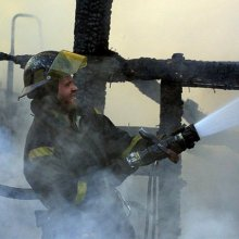 В Москве ликвидирован пожар в здании Научного центра акушерства