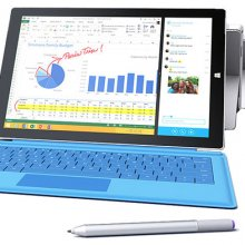 ������� Surface 3 ���������� ����������� Microsoft