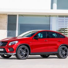 Mercedes ������� ���������� ���� �� ��������� GLE Coupe