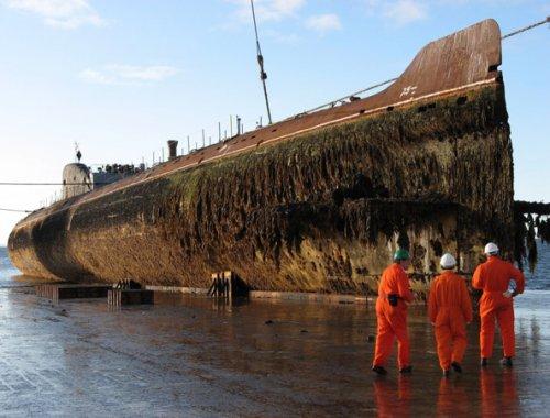 первая подводная лодка к-3 ленинский комсомол