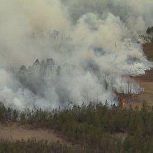 В Туве введен режим ЧС из-за пожаров