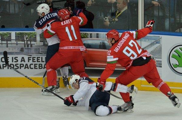 Сборная США проиграла команде Белоруссии с разгромным счетом