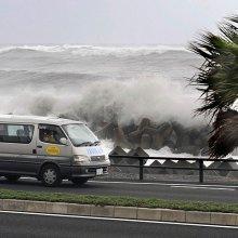 К югу Японии приближается мощный тайфун  «Ноул»