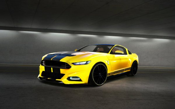 Ford Mustang GT ������� 709-������� ��������� �� GeigerCars
