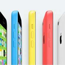 Apple ������������ iPhone 5C �� �������� ���������� �������