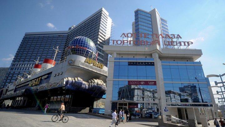 В центре Москвы горит торговый комплекс «Лотте Плаза»   Происшествия ... 2d09ef3720c