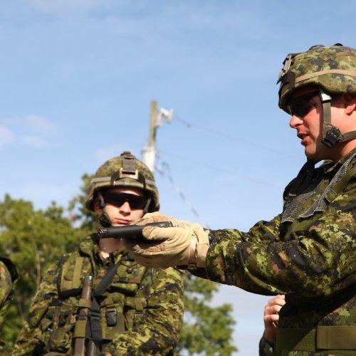 Харпер: Канадские инструкторы будут тренировать украинских солдат