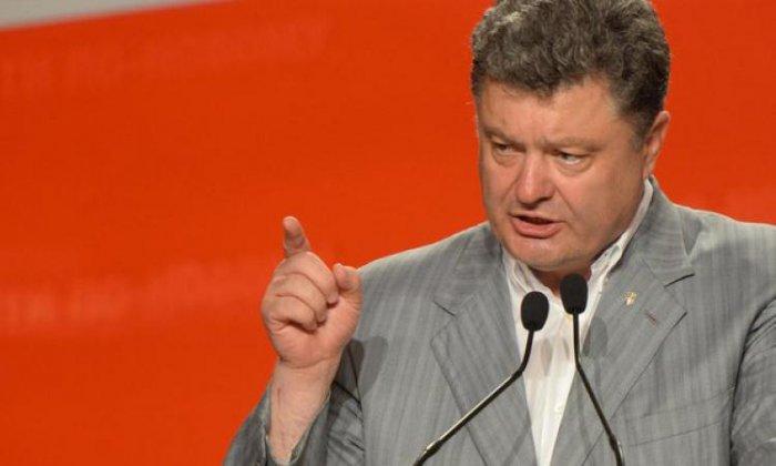 Петр Порошенко озвучил условия снятия блокады с Донбасса