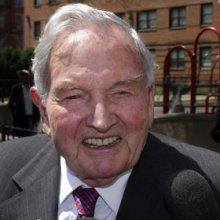 Миллиардер Дэвид Рокфеллер отмечает 100-летний юбилей