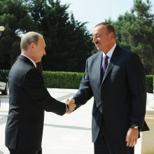 Путин приехал в Баку на открытие первых Европейских игр