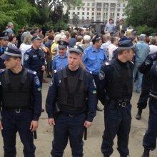 В Одессе антимайдановцев не пустили на Куликово поле почтить память погибших 2 мая