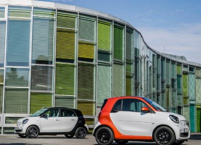 Smart ���������� ��������� ForTwo � ForFour 2016 ���������� ����
