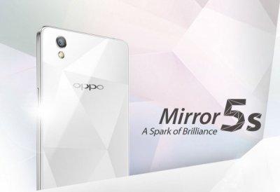 Компания Oppo выпускает смартфон Mirror 5s с поддержкой LTE