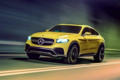 �������� Mercedes-Benz GLC Coupe ������� ��� ������� �� ������
