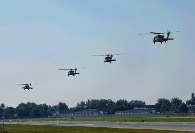 В аэропорту Львова были замечены боевые самолеты армии США