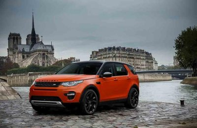 � ������ �������� ������� Land Rover Discovery Sport