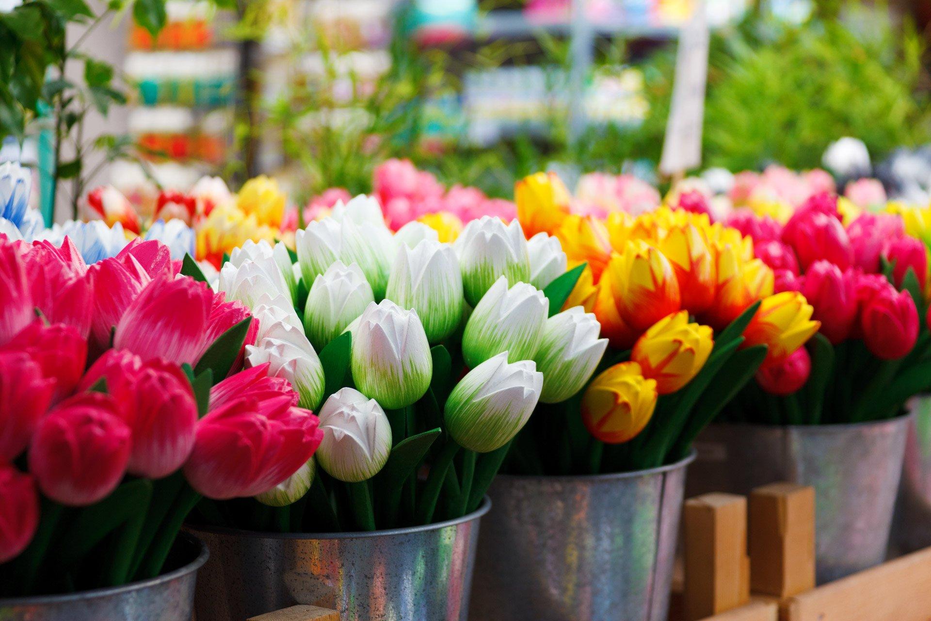 Голландские тюльпаны букетов цветов